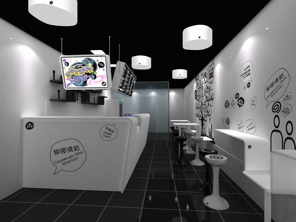 奶茶店/连锁店/甜品类/专卖店/小吃店/店铺设计/装修效果图
