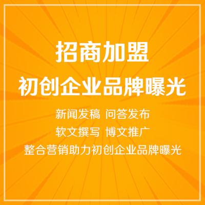 初创企业品牌曝光,网站/问答/论坛/博主整合营销
