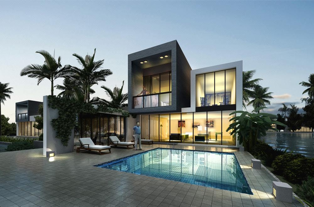 自建房设计别墅设计中式别墅欧式别墅二层别墅现代别墅设计效果图