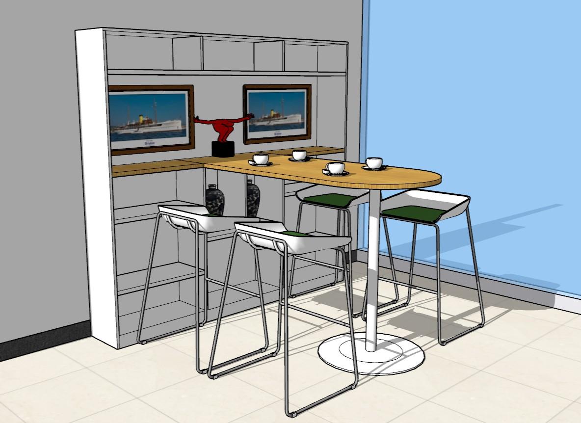 CAD绘图家具设计效果图三维下载建模布置图太师椅cad摆放图片