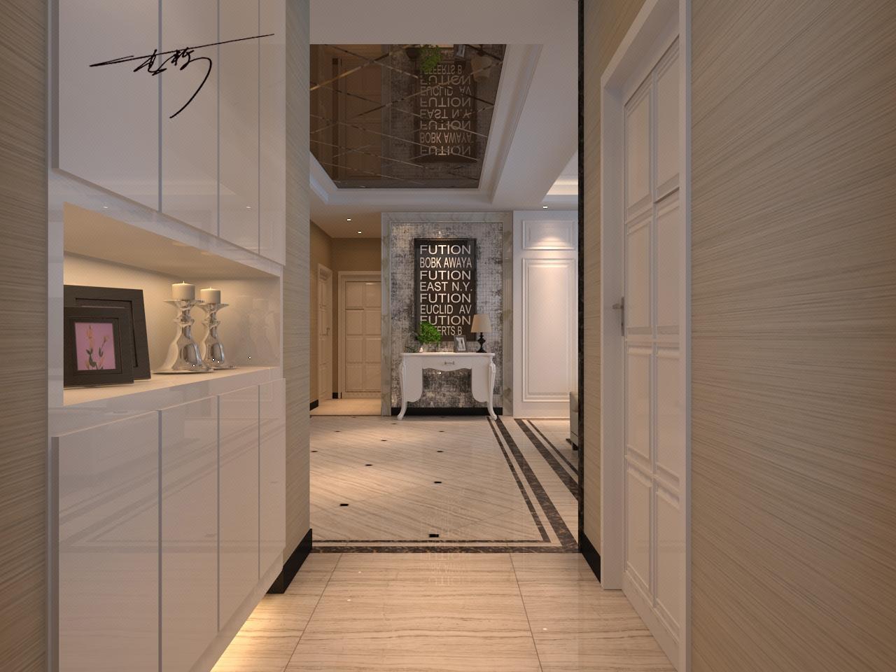 【李栋】室内设计家装效果图自建房设计装修别墅新房全屋定制软装