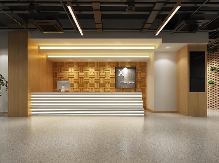 教育培训机构设计早教中心艺术培训公装设计幼儿园装修效果图设计