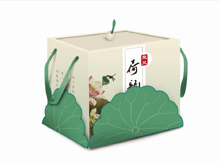 包装盒设计食品红酒产品礼品月饼茶叶包装袋创意包装盒子平面设计