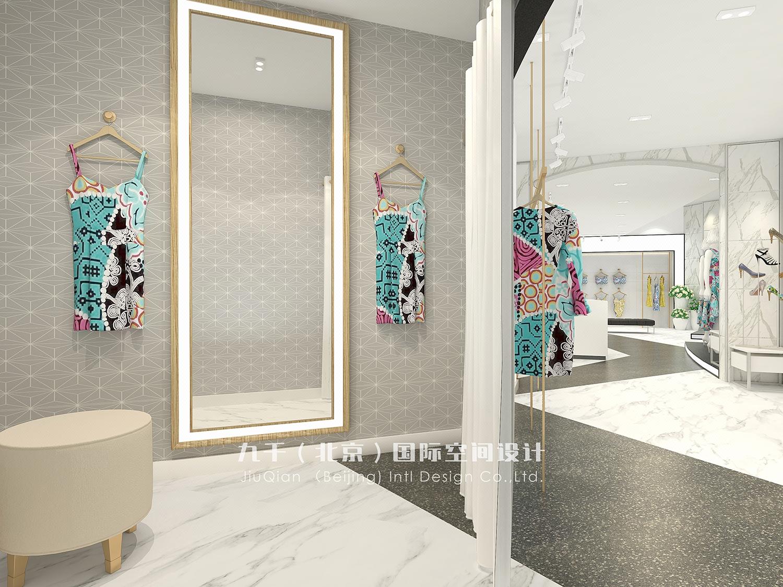 【九千国际】高端SI店面设计店铺设计专卖店设计商场服装店设计