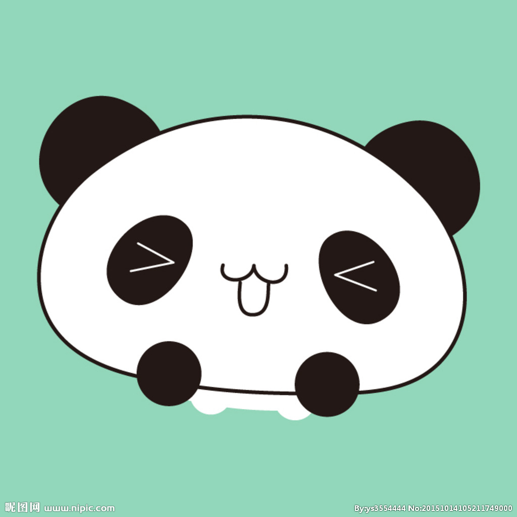 钩织宝宝帽子熊猫帽