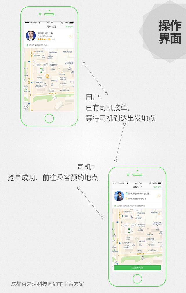 APP定制开发_打车城际拼车代驾顺风车专车网约车app开发类似滴滴打车10