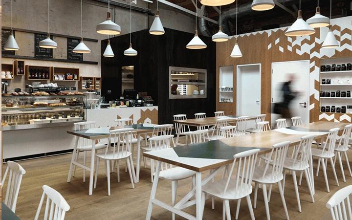 餐厅设计咖啡馆设计餐饮空间设计店铺装修设计室内设计ui属于多媒体设计吗图片