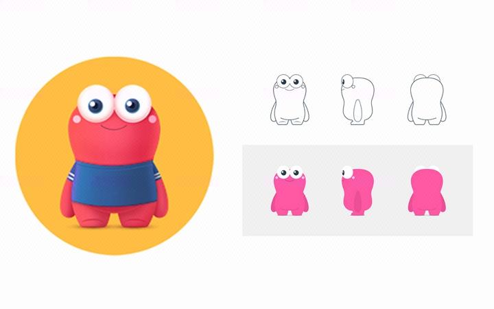 【红麦】吉祥物设计//卡通形象设计/动漫卡通/企业产品卡通