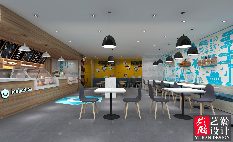 店铺设计效果图设计店面设计餐饮店铺装修设计服装店面装修设计