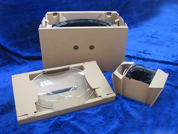 家电电饭锅的运输包装设计案例