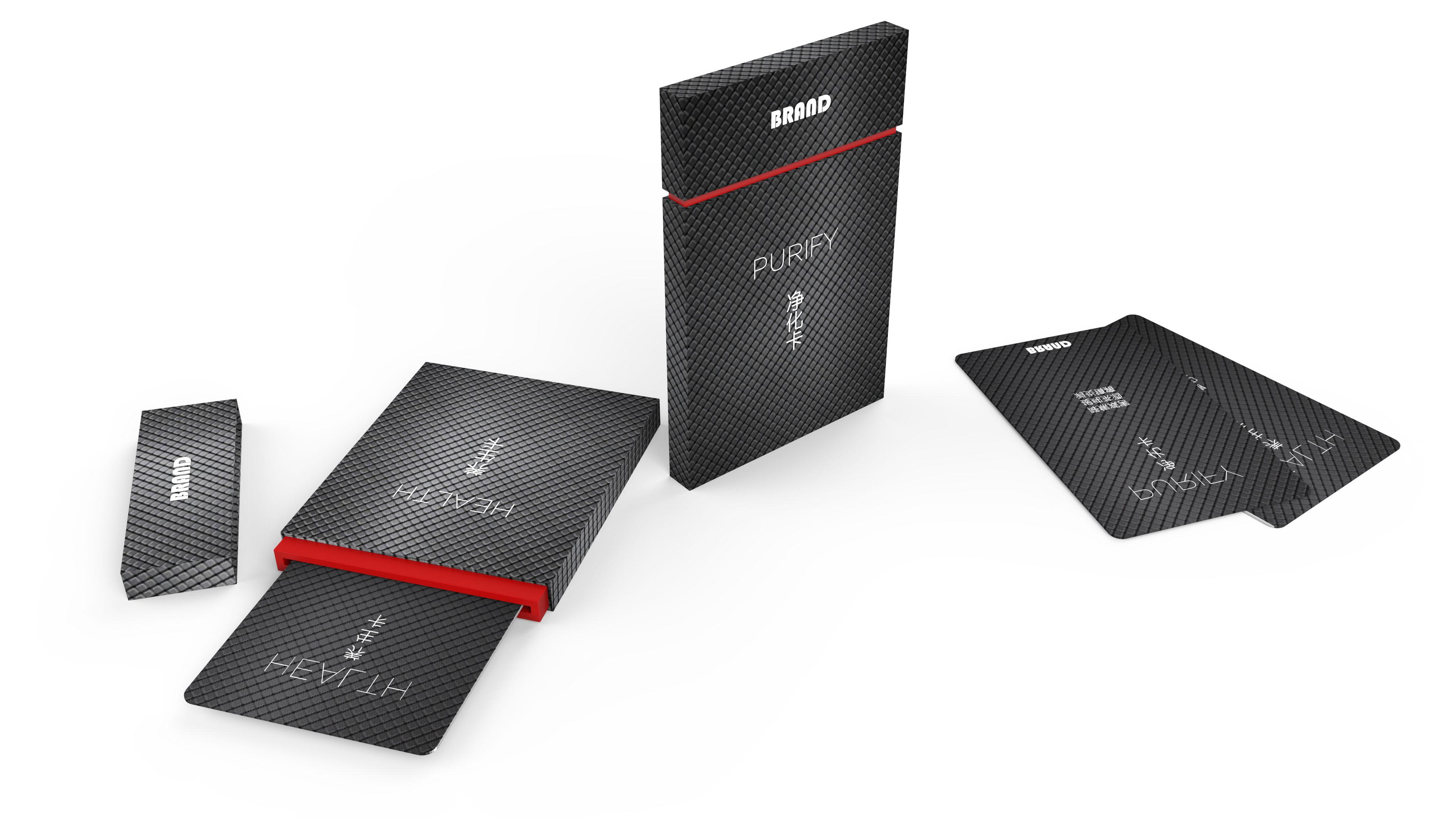 包装盒设计/礼盒设计/运输包装设计/商务感/科技感/高端