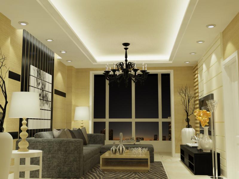 3d装修设计室内效果图 展厅设计 家装设计新房装修 三维户型
