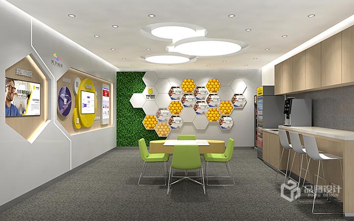 【原创设计】企业展厅/产品展厅/形象展厅/效果图设计