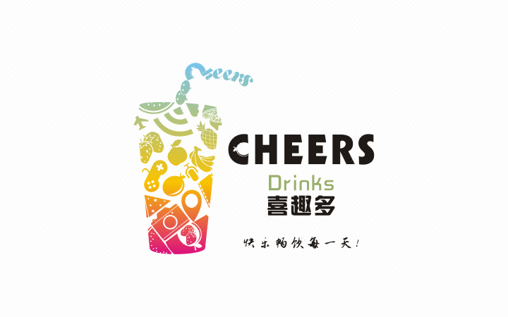 三胜文创公司企业餐饮卡通门店字体商标品牌产品标志LOGO设计