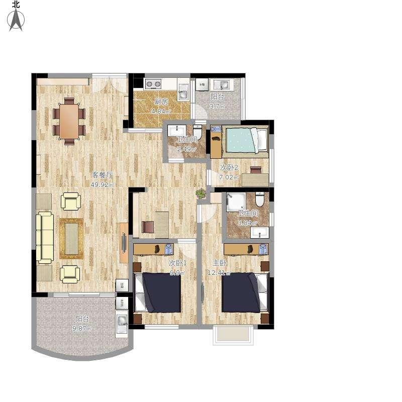 博新设计,平面布局图,办公室布局,餐饮布局,展厅布局