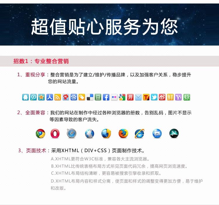 企业模板网站_企业网站建设制作 DEDE织梦模板修改参考仿站 网站二次开发4