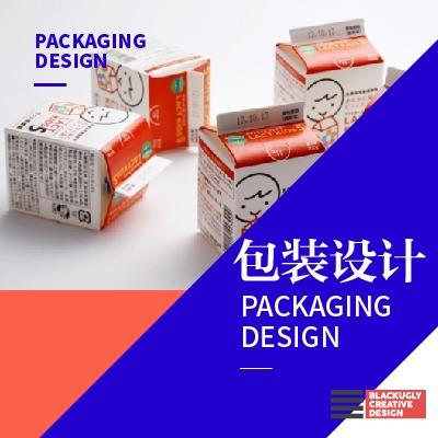 上海品牌包装设计茶叶饮料食品农产品包装设计礼盒包装化妆品瓶贴