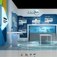 公装设计装修 科技展厅设计效果图 党建室装修设计软转搭配设计