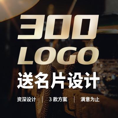 LOGO 设计图文字体英文原创公司标志图标VI企业品牌商标设计