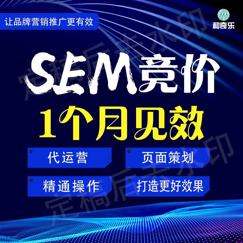 SEM网站竞价代运营托管百度360搜狗神马谷歌优化搜索推广