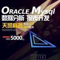 ORACLE/MYSQL数据库分析服务/商业智能/报表 开发