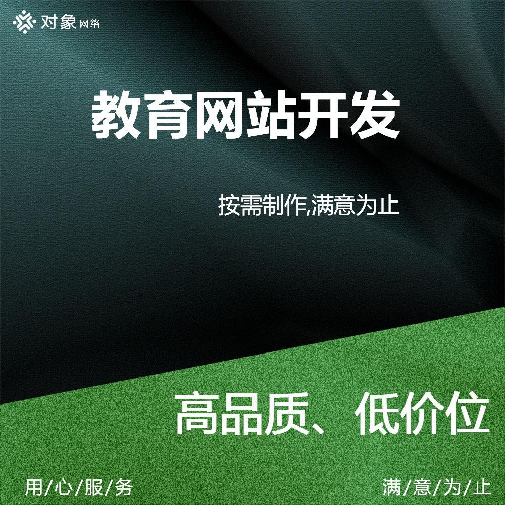 教育网站开发/文化教育网站/职业叫域网站/编程教育开发