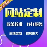 广州网站定制开发/响应式设计 创意排版/主流设计风格定制网站