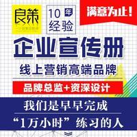 企业画册设计宣传册设计招商画册宣传册DM单banner设计