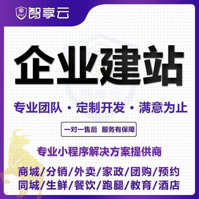 网站建设开发制作设计企业公司官网定制网页手机网站商城分销外卖