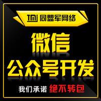微信公众平台开发企业微网站政府H5抽奖活动营销推广小游戏开发