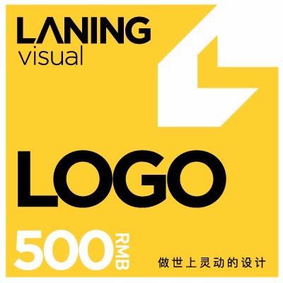 兰灵视觉餐饮logo公司logo企业logo图文logo设计