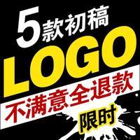 墨雨卡通标志logo设计品牌简约餐饮图形设计标志企业品牌