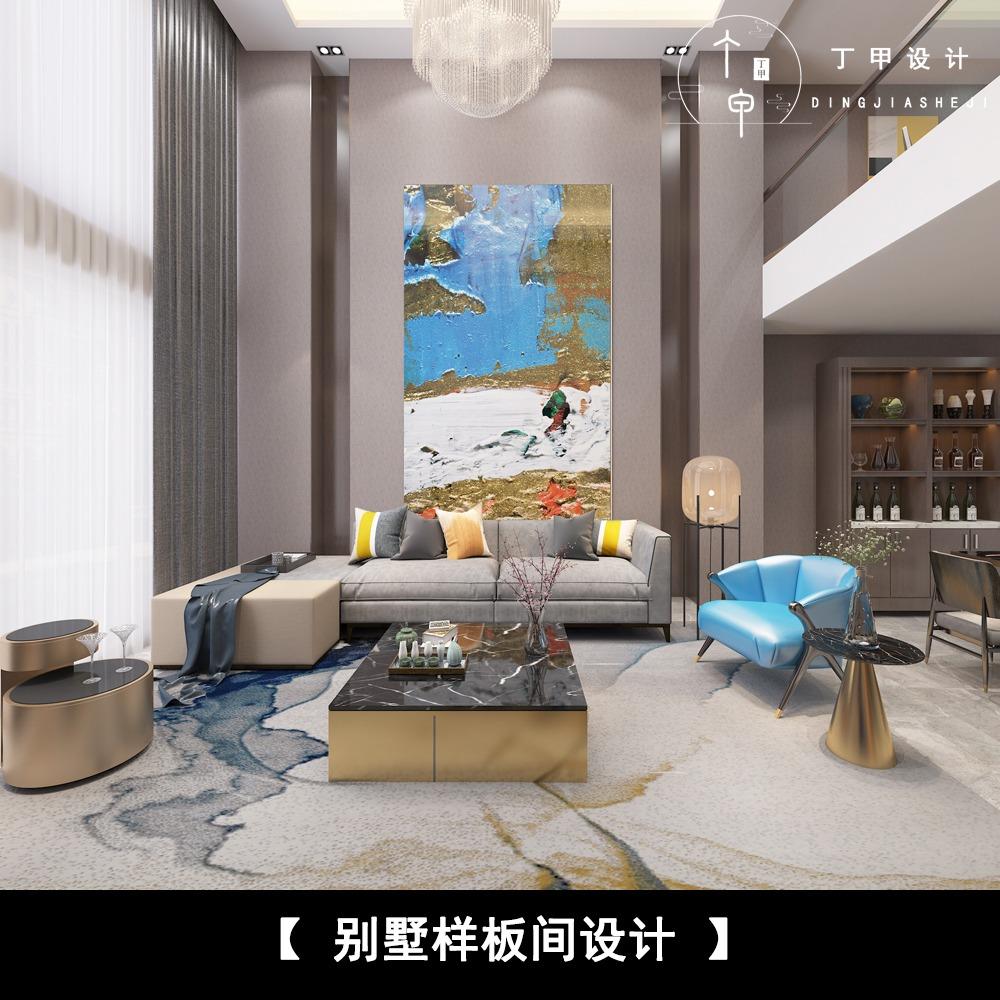 别墅设计 室内空间装修设计 跃层家装设计 自建房设计