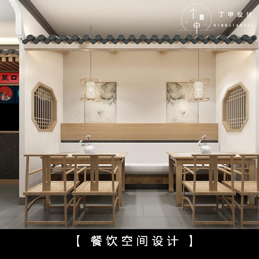 室内设计 餐饮空间设计 公装设计 奶茶店设计 炸鸡店设计