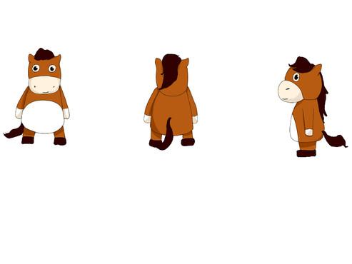 内蒙古马文化吉祥物征集大赛 官方其他渠道征集作品代交 投标-猪八戒网