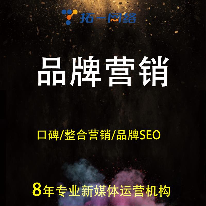 品牌整合营销策划策略全案网站产品企业百度口碑网络营销全案推广
