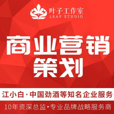 【商业营销策划】商业计划书/众筹策划/商务拓展/行业文案策划