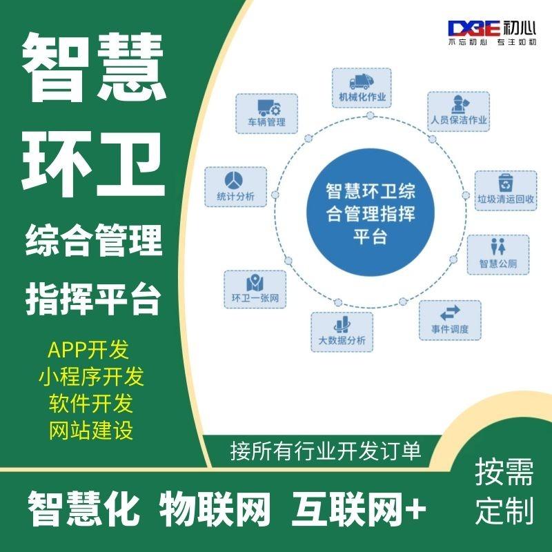 智慧环卫综合管理指挥平台  智慧化 物联网 软件开发