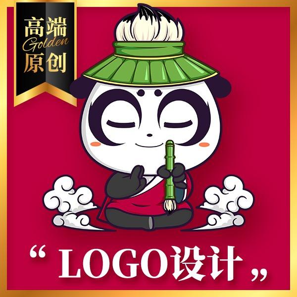 logo设计可注册企业品牌标志商标VI设计图标标签字体极客蝉
