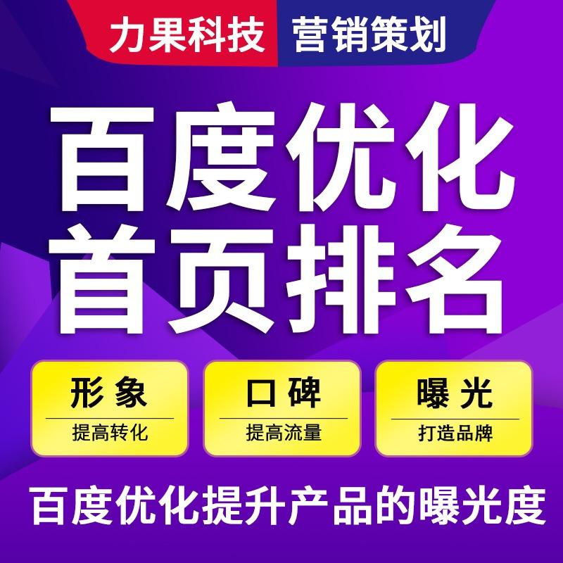 【SEO优化】企业网站优化/百度搜索引擎/企业关键词优化