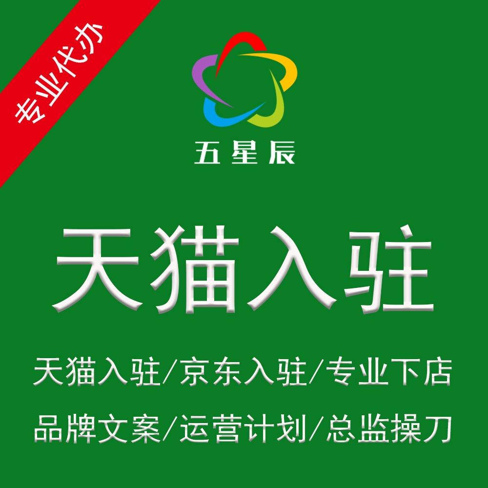 天猫京东代入驻方案开店服务品牌运营计划书PPT旗舰专卖专营