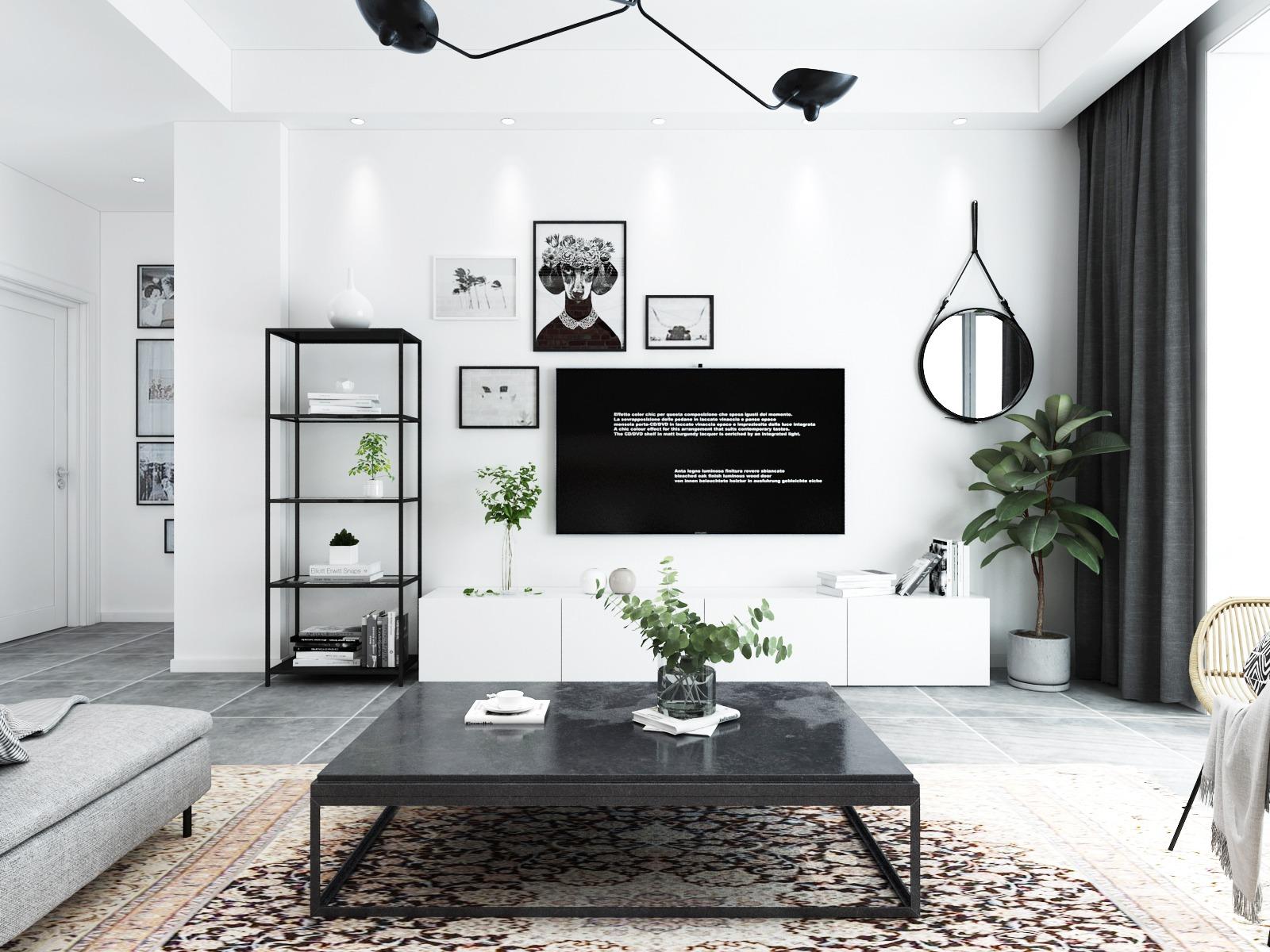 现代轻奢家装室内设计.家装效果图.装修效果图.家装效果图设计