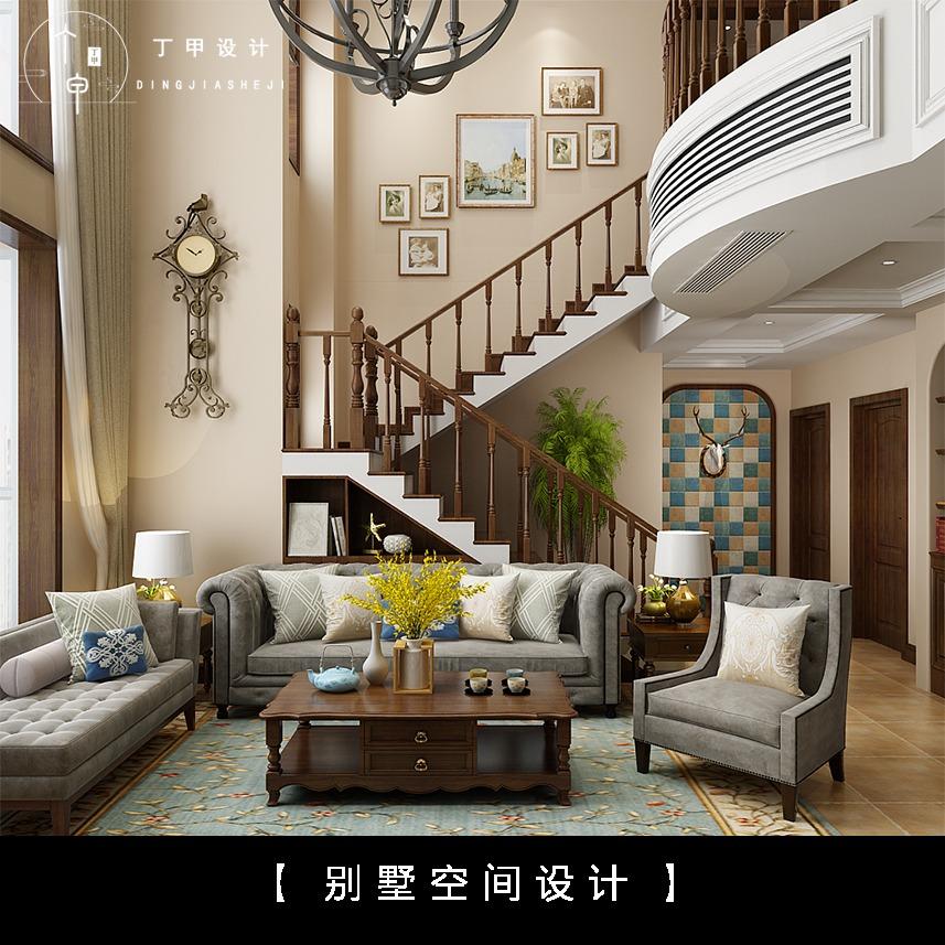 别墅装修设计家装设计装修 新房装修设计效果图 样板间设计