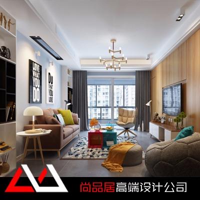 家装设计新房装修地中海风格新房设计效果图客厅餐厅卧室书房设计