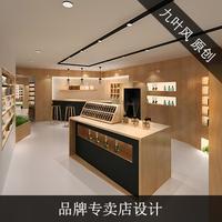 效果图  装修设计  店铺设计  化妆品店设计  品牌连锁店