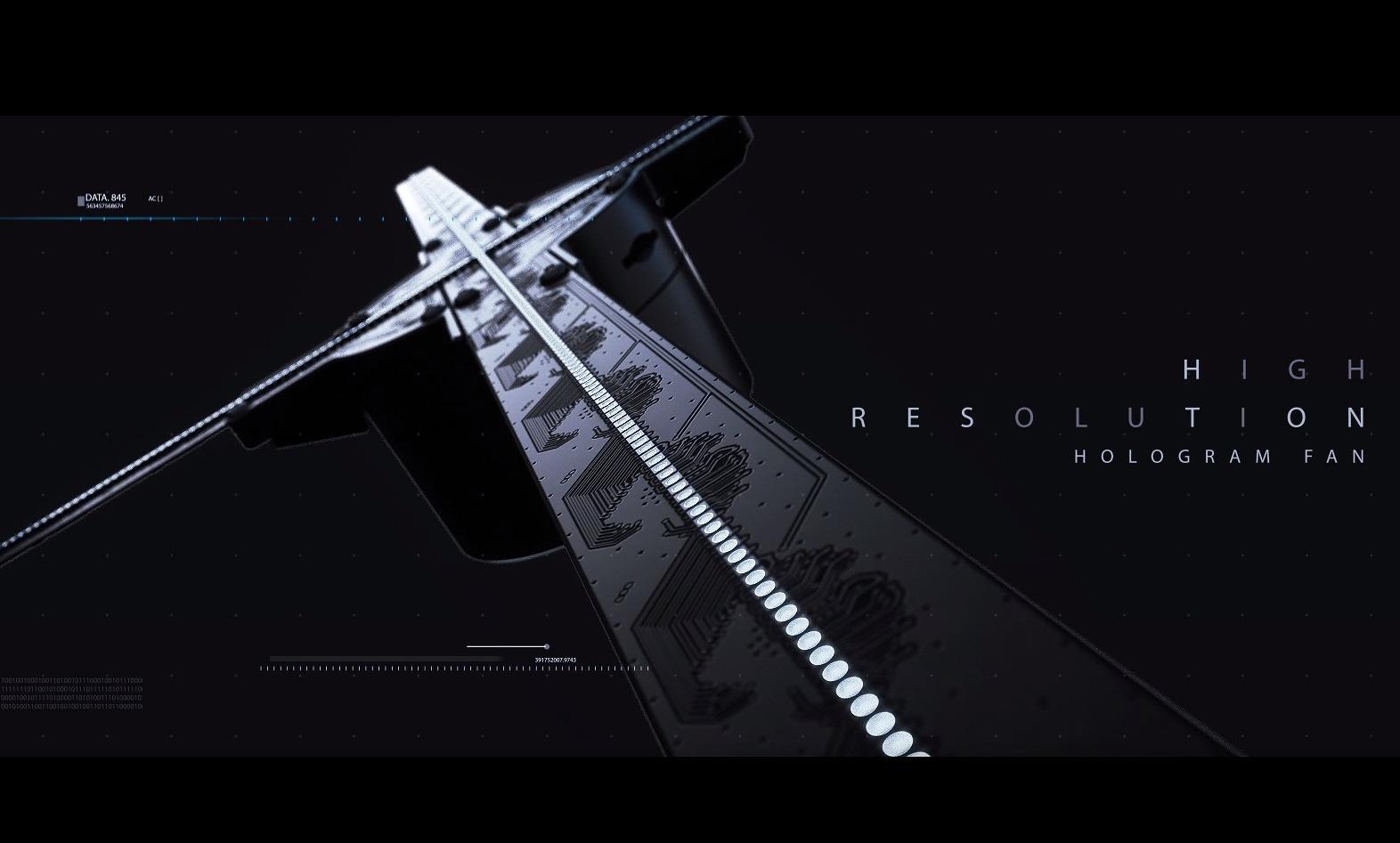3D风扇LED全息风扇三维动画制作3d动画制作
