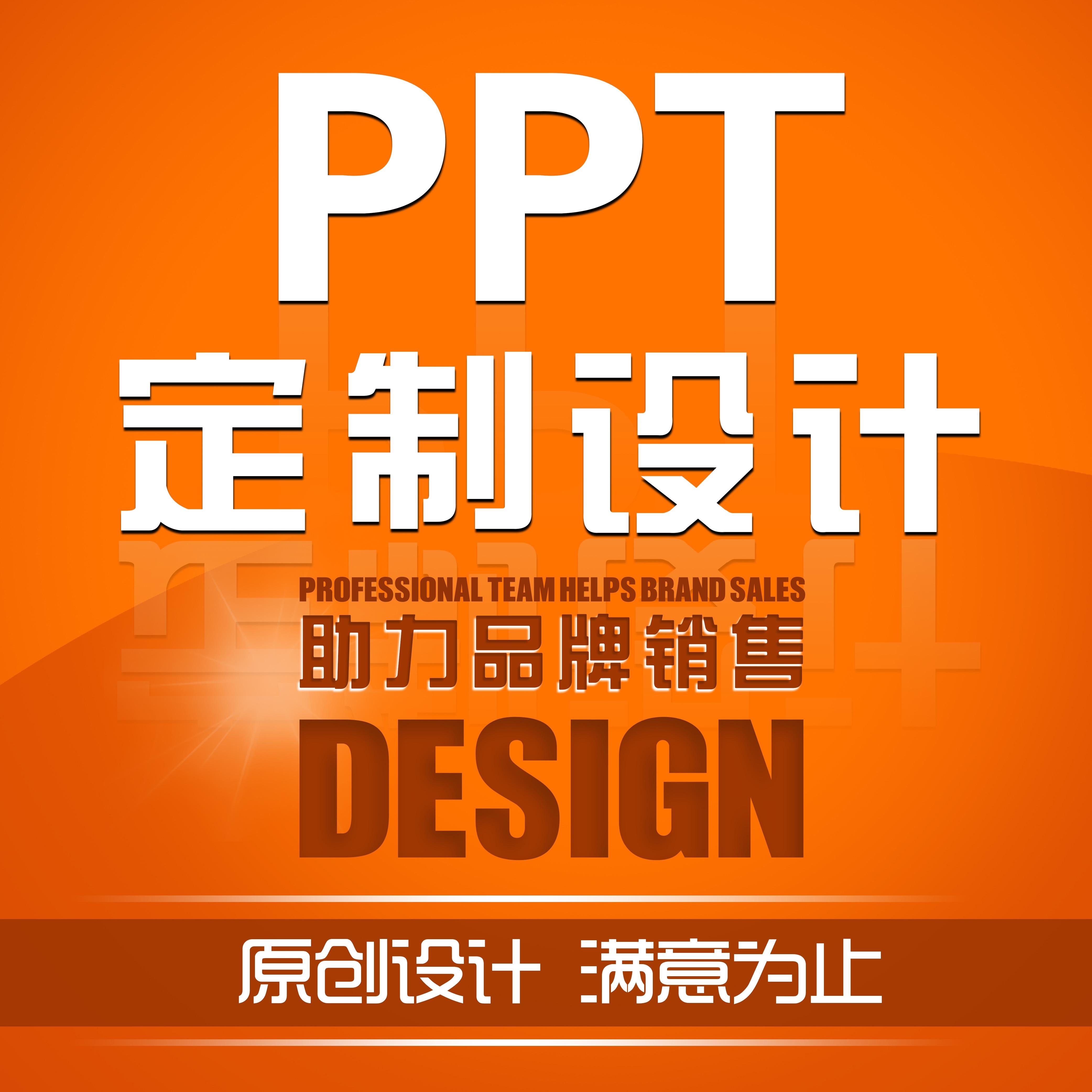 专业PPT定制模板商业演讲招商课件简历汇报PPT