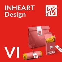 因心VI设计/自选VI设计/服装/珠宝/教育/培训/VI全套