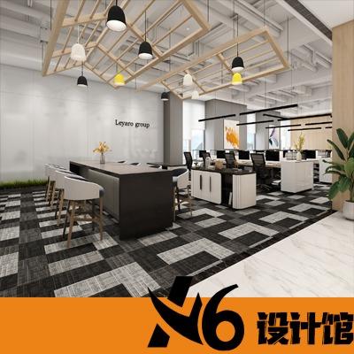 办公室装修设计效果图室内设计公装设计空间设计经理室写字楼设计
