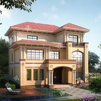 全套农村别墅设计,自建房设计、农家乐、法式、西班牙、现代